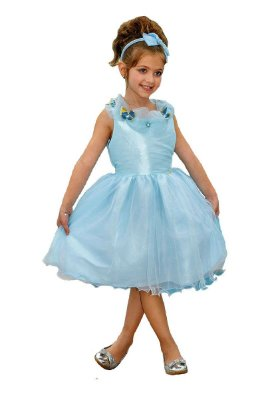 MS3016 - Vestido Azul Princesa - Miss Sweet
