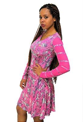 58741 Vestido estampado- Hapuk