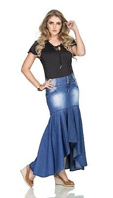 RW4124 - Saia Jeans mullet Longa - Rowan
