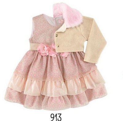 913 - Vestido Onça com Paetê - Miss Sweet