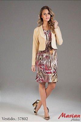 57802- Vestido Malha com Blazer - Marian