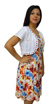 3908 - Vestido Boneca Estampado - Zunna Ribeiro