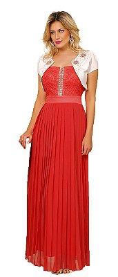 8857 - Vestido Longo Alphorria - Fasciniu's