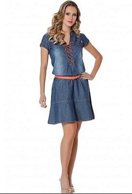 110431 - Vestido Jeans - Via Tolentino