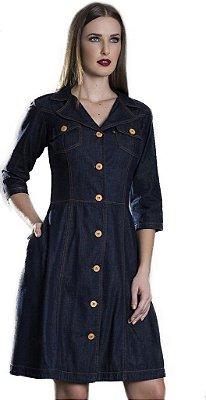 50799 -Vestido Jeans - Via Caruso