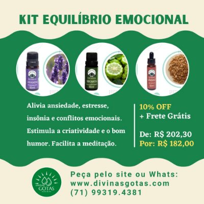 Kit Equilíbrio Emocional