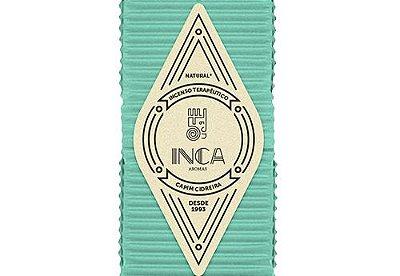 Incenso Terapêutico Capim Cidreira (caixa 9 Varetas) Inca Aromas