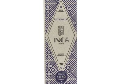 Incenso Terapêutico Citronela (caixa 4 Varetas) Inca Aromas
