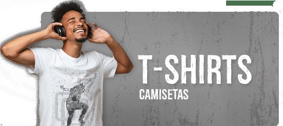 Camisetas T-Shirts Masculinas