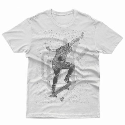 Camiseta Tribos do Skate (SK8)  - T-Shirt Skateboard