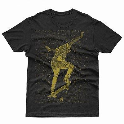 Camiseta Loucos por Skate (SK8)  - T-Shirt Skateboard