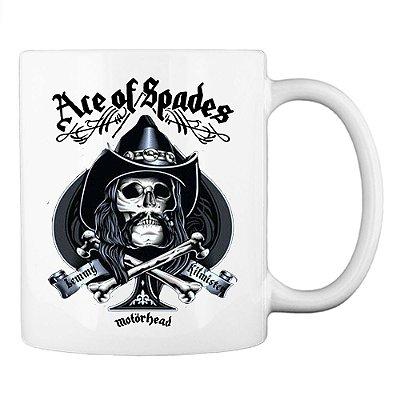 Caneca Motörhead Ace Of Spades - Lemmy Kilmister
