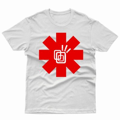 Camiseta Red Hot Chili Peppers - T-Shirt Tribos Urbanas