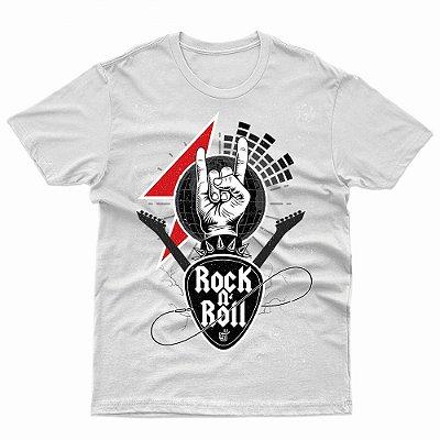 Camiseta Rock n Roll - T-Shirt Dia Mundial do Rock (13 de Julho)