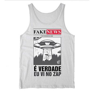 Regata Fake News Abduzido - É Verdade eu vi no ZAP