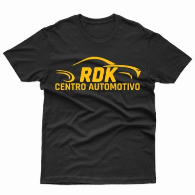 Camiseta RDK - T-Shirt Centro Automotivo
