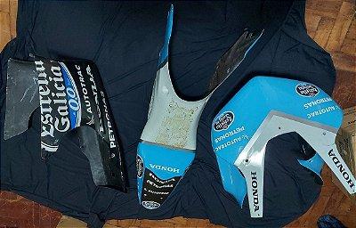 Jogo de carenagem Racing em fibra Honda CBR250R