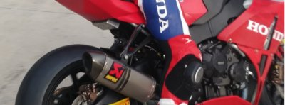 Escape Racing Full Titanio Akrapovic Honda CBR1000RR - Usado