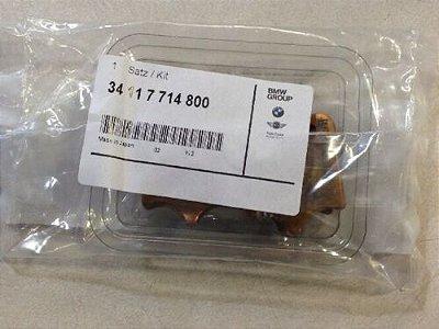 Jogo de pastilhas de freio dianteira original BMW  (34117714800)