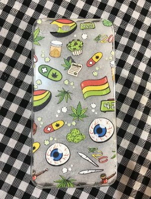 "Capinha para celular - iPhone 7 Plus -""420"""