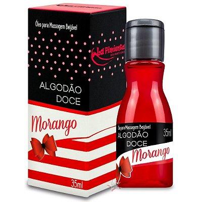 ALGODÃO DOCE - Calda para Sexo Oral - Sabor: Morango