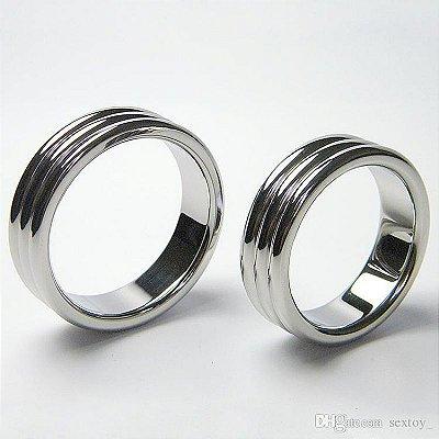 Pênis Ring Anel Metálico - Tamanho P | 1388