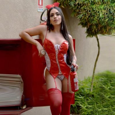 FANTASIA - Bombeira Sexy Le Rouge FF175 | Tamanho: Único