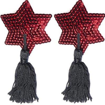 NIPPLE - Cover Estrela - Vermelho