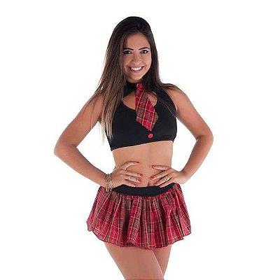 FANTASIA - Estudante Julia Amareto Tamanho: M - Cor: Vermelho | AMA1084