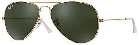 RAY-BAN AVIADOR GOLD POLARIZADO