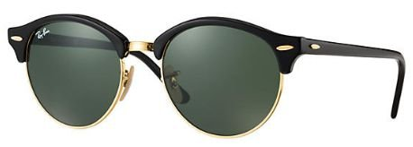 RAY-BAN CLUBROUND 901 black