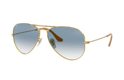 RAY-BAN 3025L AVIATOR LARGE METAL 001 3F