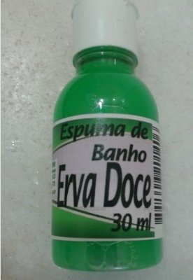 ESPUMA DE BANHO 30 ML ERVA DOCE CX C/ 250