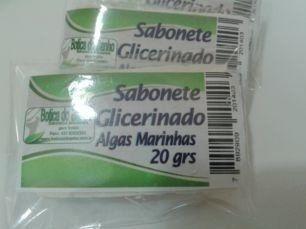 SABONETE GLICERINADO  ALGAS MARINHAS  20  GRS CX COM 400