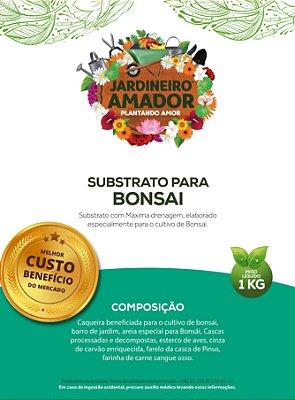Substrato para Bonsai