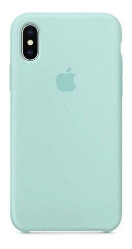 Capa Capinha Aveludada Premium Microfibra iPhone X iPhone XS