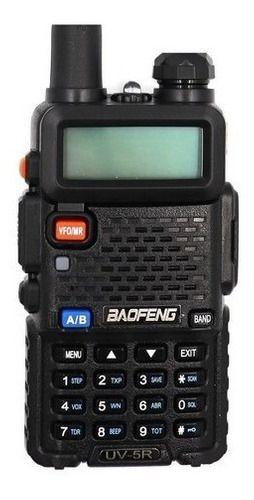 Rádio Ht Digital Policia Dual Band Baofeng 128 Canais Fm
