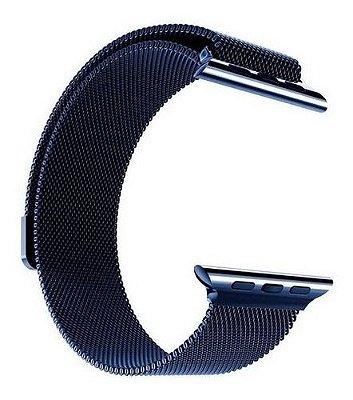 Pulseira Aco Loop Milanes Compativel Applewatch 1 2 3 4 5