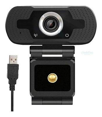 Webcam 1080 Full Hd Câmera Computador V3 Videoconferência