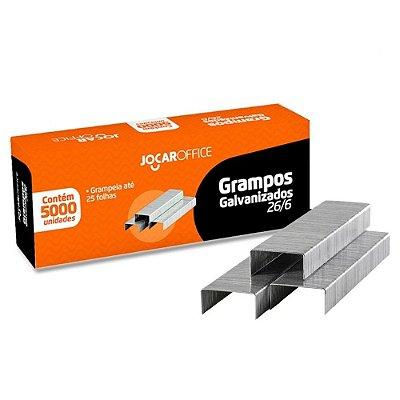 Grampo Para Grampeador 26/6 Galvanizado c/5000 grampos