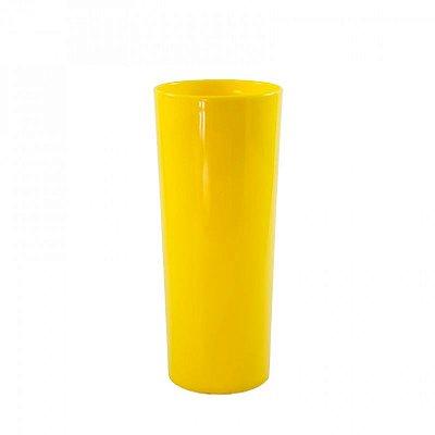 Copo Long Drink 300ml - Amarelo (Sólido)