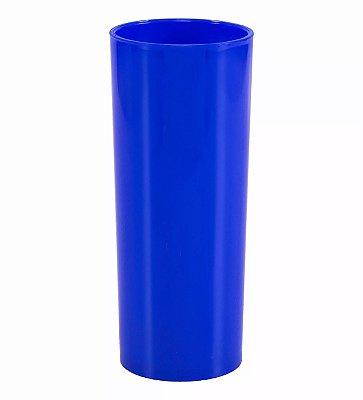 Copo Long Drink 300ml - Azul Royal (Sólido)