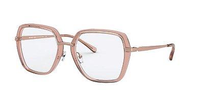 Óculos de grau Michael Kors  MK3045 1108 rosa translúcido