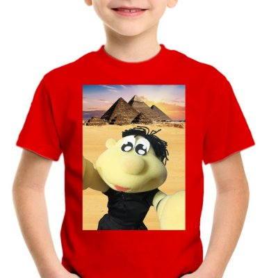 Camiseta Infantil Brutinho no Egito