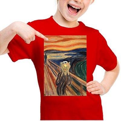 Camiseta Infantil Brutinho na Noruega