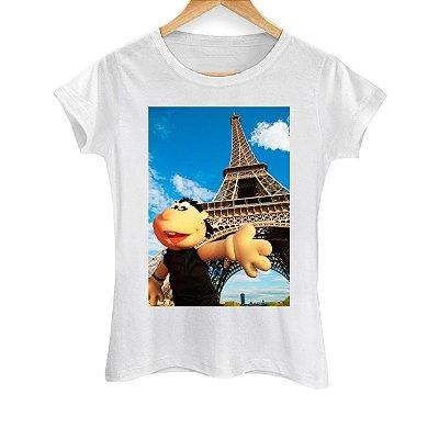 Camiseta Feminina Brutinho na Torre Eiffel