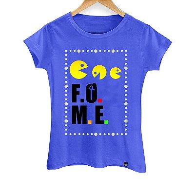 Camiseta Feminina Pac Man