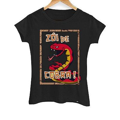 Camiseta Feminina Zoi de Cobra