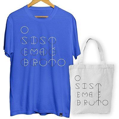 KIT OFERTA Camiseta + Ecobag Sistema Círculos