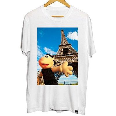 Camiseta Masculina Brutinho na Torre Eiffel